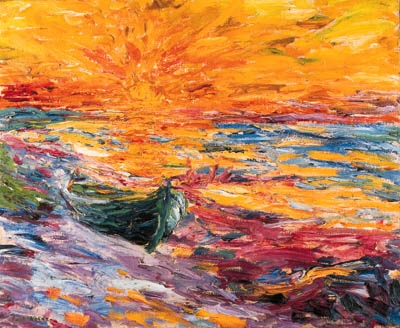 primitivism in gauguins and noldes paintings essay